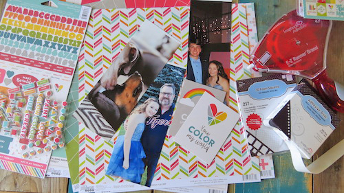 Color Full Week with Jillibean Soup Color Full Scrapbook Page by Shannon Morgan for Scrapbook Adhesives by 3L