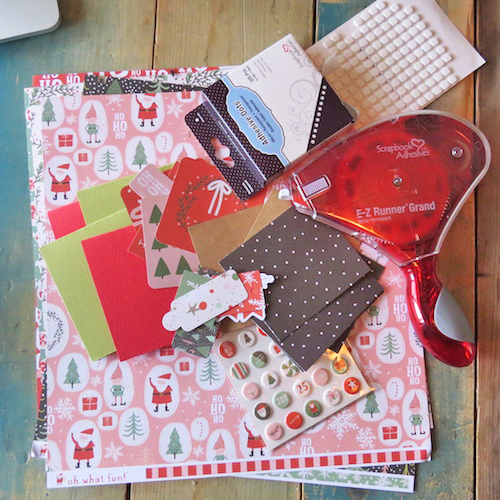 Oh What Fun Christmas Card Set Tutorial by Shannon Morgan for Scrapbook Adhesives by 3L