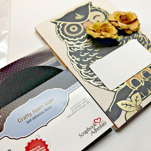 Greeting Card Journal Album by Shellye McDaniel for Scrapbook Adhesives by 3L