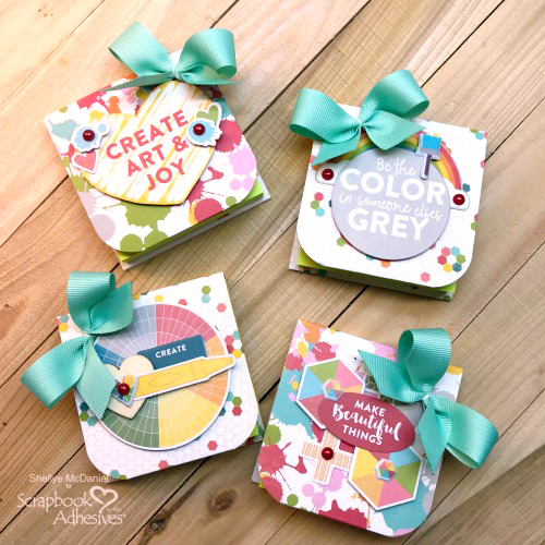 Covered Notepad Gift-ables by Shellye McDaniel for Scrapbook Adhesives by 3L