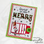 Merry Flip and Slide Card tutorial