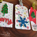 Shiny Holiday Gift Tag Tutorial