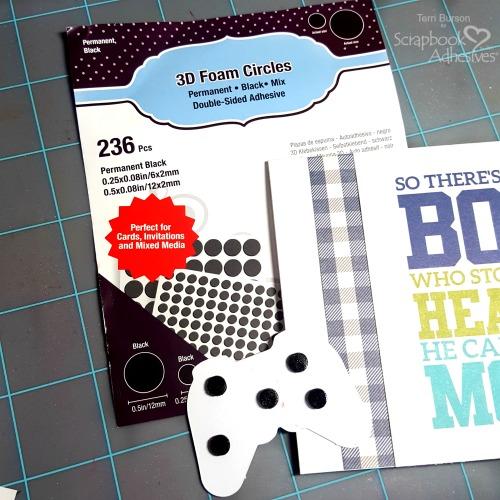 Word Scramble Gamer Card by Terri Burson for Scrapbook Adhesives by 3L