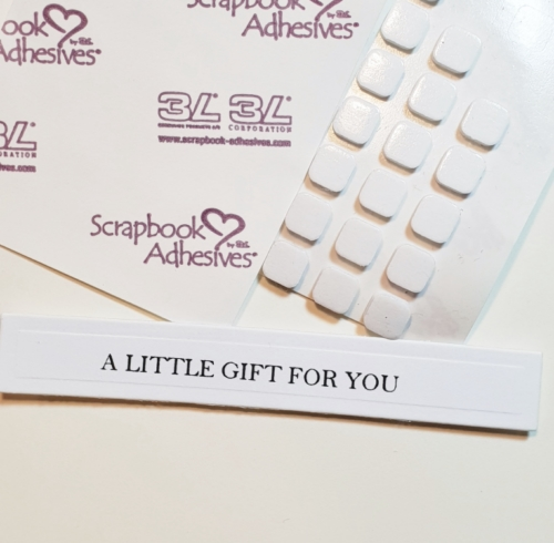 It's a Gift Card...Card! by Christine Emberson for Scrapbook Adhesives by 3L