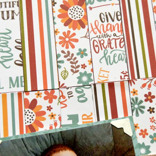 Getting thorough coverage using adhesive sheets from Scrapbook Adhesives by 3L, by Christine Meyer