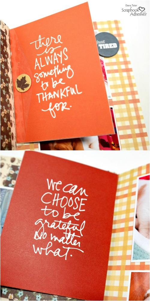 Flip Cards Travelers Notebook Insert with Keepsake Envelope Flaps
