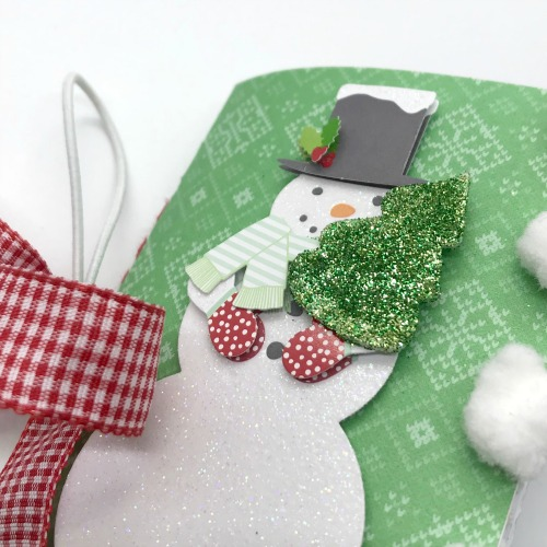 DIY Christmas Mini Covered Notebook Tutorial by Shellye McDaniel for Scrapbook Adhesives by 3L