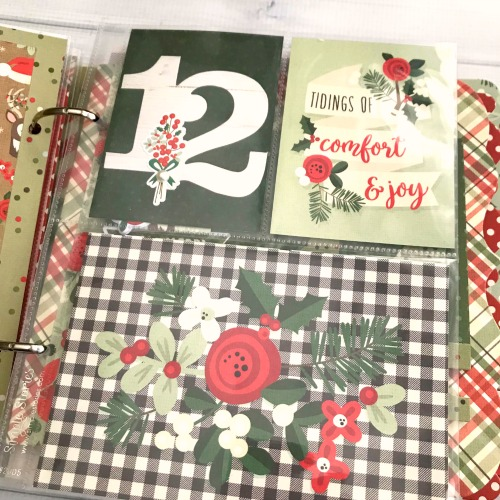 2-In-1 December Daily Album by Shellye McDaniel for Scrapbook Adhesives by 3L