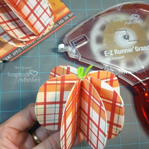 Autumn Recipe Mini Tag Album by Terri Burson for Scrapbook Adhesives by 3L