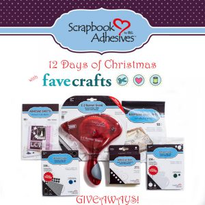Keepsake Paper Crafting Giveaway at Favecrafts from Scrapbook Adhesives by 3L