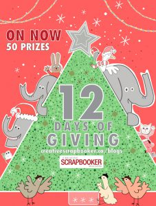 Creative Scrapbooker 12 Days of Giving