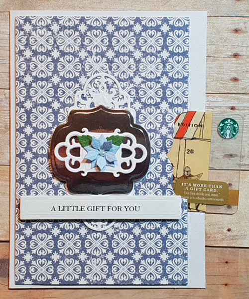 It's a Gift Card ... Card! by Christine Emberson for Scrapbook Adhesives by 3L