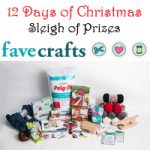12 Days of Crhiatmas Sleigh of Prizes at Favecrafts