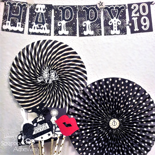 New Years Party Ensemble by Linsey Rickett for Scrapbook Adhesives by 3L
