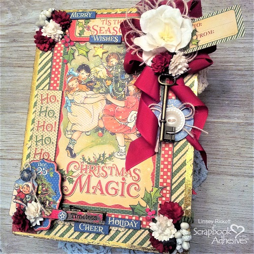 The Magic of Christmas Box and Tags by Linsey Rickett for Scrapbook Adhesives by 3L Christmas Inspiration Wk w Graphic 45