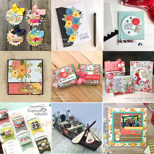 Favorite 9 Posts of 2018 - Scrapbook Adhesives by 3L