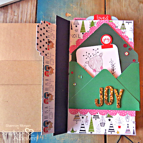 My DIY Advent Journal Part 2 by Shannon Morgan for Scrapbook Adhesives by 3L