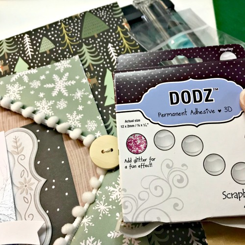 Create a Winter Window Layout by Shellye McDaniel for Scrapbook Adhesives by 3L