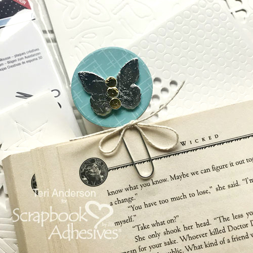 DIY Foiled Planner Clips by Teri Anderson for Scrapbook Adhesives by 3L