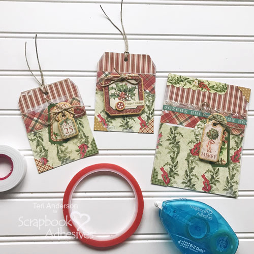 Holiday Magic Tag and Card Set by Teri Anderson for Scrapbook Adhesives by 3L Christmas Inspiration Week with Graphic 45