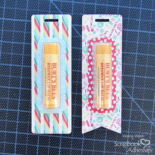 Lip Balm Tall Tags Tutorial by Valerie Ward for Scrapbook Adhesives by 3L