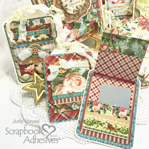 12 Days of Christmas Box, Cards and Tags by Judy Hayes for Scrapbook Adhesives by 3L Christmas Inspiration Wk w Graphic 45