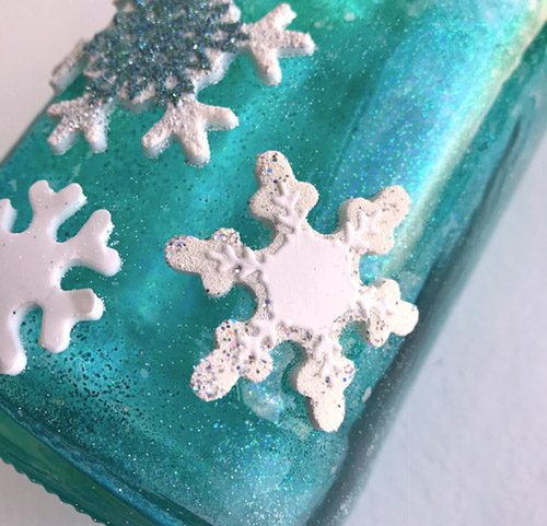 Glitter Snowflakes Jar by Judy Hayes for Scrapbook Adhesives by 3L