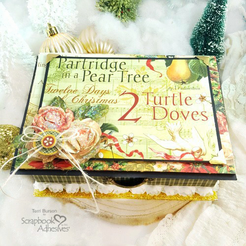 Wonderful Christmas Keepsake Box by Terri Burson for Scrapbook Adhesives by 3L Christmas Inspiration Week with Graphic 45