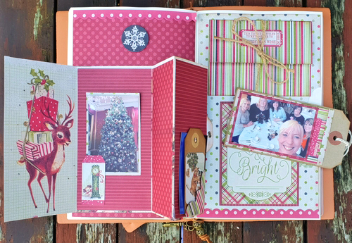A Special Memory Page by Christine Emberson for Scrapbook Adhesives by 3L