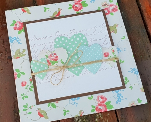 Gift Wrap Valentine's Day Card by Christine Emberson for Scrapbook Adhesives by 3L