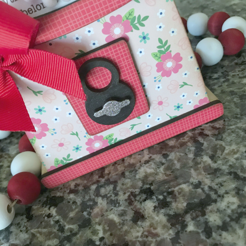 Valentine Home Decor by Shellye McDaniel for Scrapbook Adhesives by 3L
