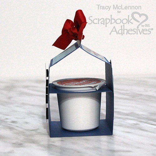 A Winter Warm Gift of Cocoa by Tracy McLennon for Scrapbook Adhesives by 3L