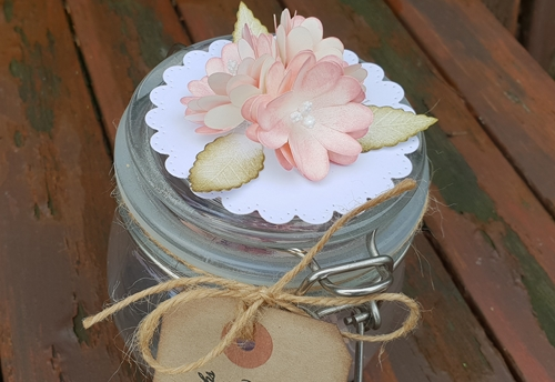 Decorated Memory Jar Tutorial by Christine Emberson for Scrapbook Adhesives by 3L