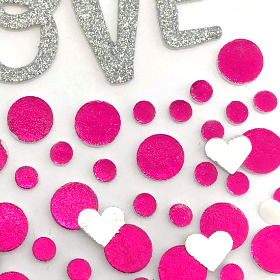 Valentine's Day Foiled Card by Christine Meyer for Scrapbook Adhesives by 3L