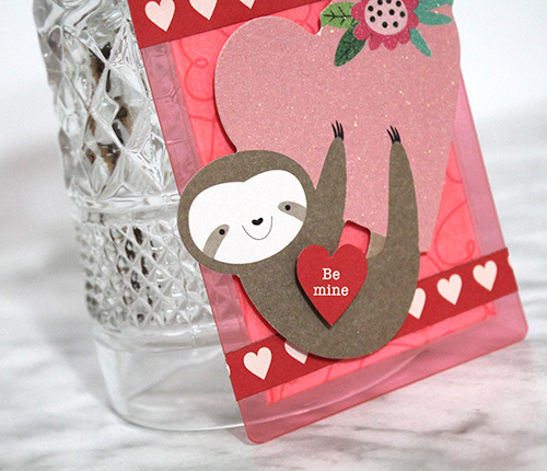 Easy Valentine's Day Tag by Tracy McLennon for Scrapbook Adhesives by 3L