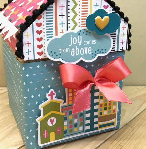 A House Is A Home Keepsake Box by Shellye McDaniel for Scrapbook Adhesives by 3L