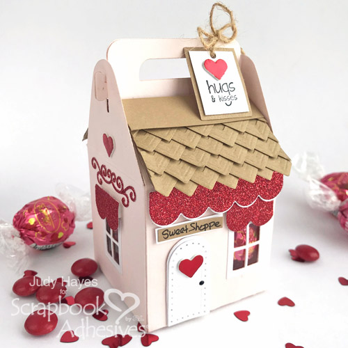Sweet Shoppe Valentine's Treat Box by Judy Hayes for Scrapbook Adhesives by 3L