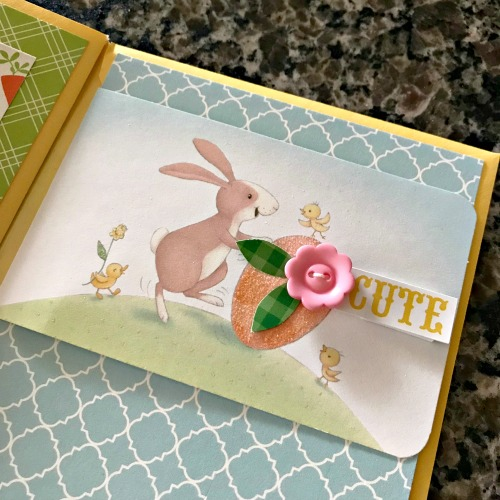 Easter Envelope Mini Scrapbook by Shellye McDaniel for Scrapbook Adhesives by 3L