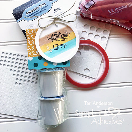Quick Gift for a Coffee Lover by Teri Anderson for Scrapbook Adhesives by 3L