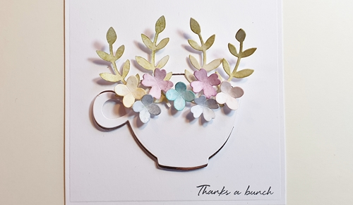 Thanks A Bunch Floral Tea Cup Tutorial with Coffee Lovers by Christine Emberson for Scrapbook Adhesives by3L