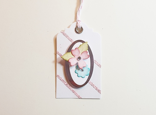 Floral Mini Tags Tutorial by Christine Emberson for Scrapbook Adhesives by 3L