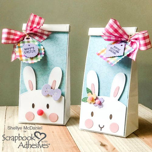 Easter Treat Bags by Shellye McDaniel for Scrapbook Adhesives by 3L