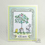 Easter Egg Tree Card by Yvonne van de Grijp for Scrapbook Adhesives by 3L