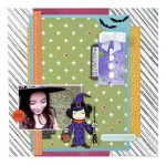 Halloween Scrapbook Page by Dana Tatar for Scrapbook Adhesives by 3L e-book with Favecrafts