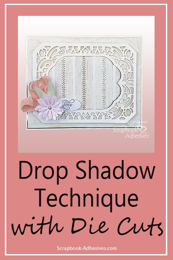 Elegant Ivory and Gold Card Tutorial by Christine Emberson for Scrapbook Adhesives by 3L Pinterest