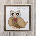 Owl Love Card by Christine Emberson for Scrapbook Adhesives by 3L e-book with Favecrafts