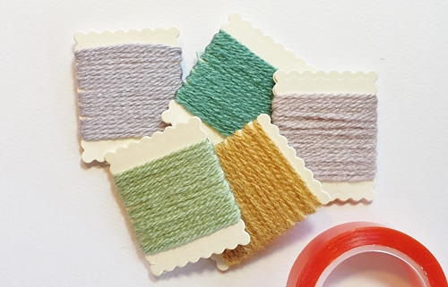 DIY Yarn Swatch Wallets by Christine Emberson for Scrapbook Adhesives by 3L