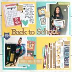 Back to School Scrapbok Page by Latrice Murphy for Scrapbook Adhesives by 3L e-book with Favecrafts