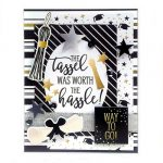 Graduation Card by Linsey Rickett for Scrapbook Adhesives by 3L e-book with Favecrafts