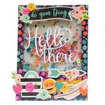 Hello Card by Linsey Rickett for Scrapbook Adhesives by 3L e-book with Favecrafts